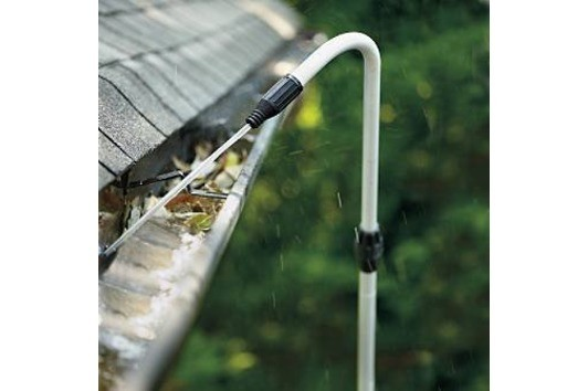 New Gutter Cleaning System