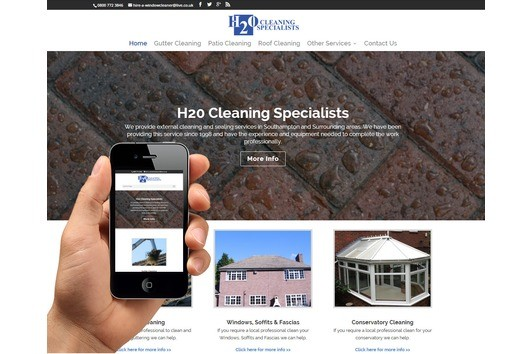 New responsive websites available