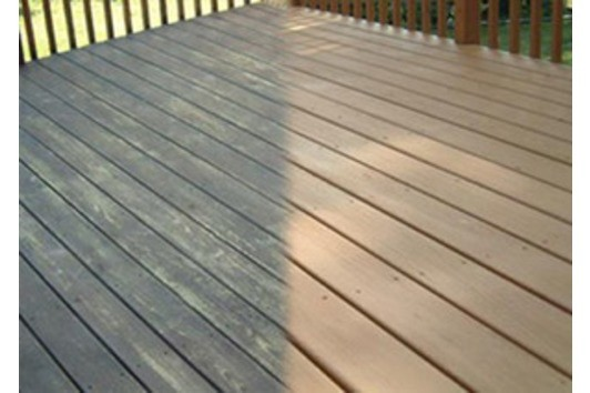 Keep your decking safe and clean in just 1 hour, without pressure washing.